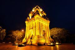 Nhan Tower - stock photo