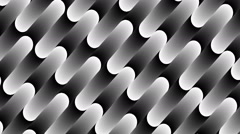 Stock Video Footage of Bended shape with floating pattern-742-an