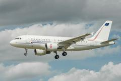 Stock Photo of Airbus A319