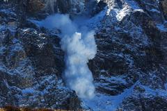 Avalanche - stock photo