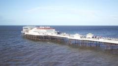 Cromer pier Stock Footage