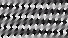 Bended shape with floating pattern-754-ap Stock Footage