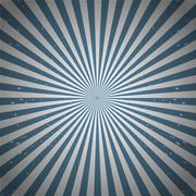 Sunburst pattern abstract illustration - stock illustration