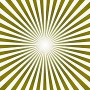 Sunburst pattern abstract illustration - stock illustration
