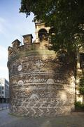 Roemerturm roman tower Cologne North Rhine Westphalia Germany Europe - stock photo
