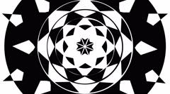 Sun Kaleidoscope Mask - stock footage