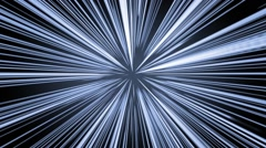 Hyperspace. Light Speed Stock Footage