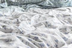Full frame shot of sheet on bed Stock Photos