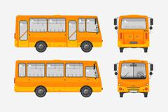 Autobus - stock illustration