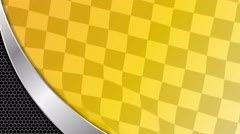Yellow racing sports background Arkistovideo