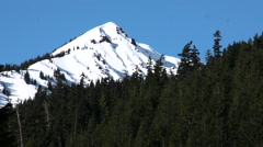 Scenic Washington Cascades in the Spring - stock footage