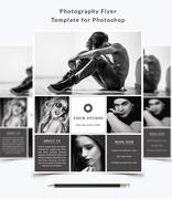 Photography Flyer Template PSD Template