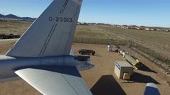 B-52 Exhibit - stock footage