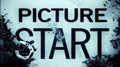 Film Leader Frame Macro Stock Illustration