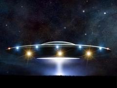 Stock Illustration of Flying saucer