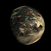 Alien Exo Planet - stock illustration
