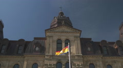 New Brunswick Legislature Building. - stock footage