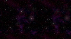 Star Time Lapse, Milky Way Galaxy Moving Across the Night Sky - stock footage