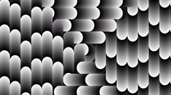 Bended shape with floating pattern-801-ap Stock Footage