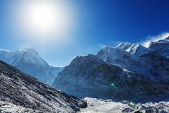 Kanchenjunga region - stock photo
