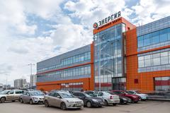Andreevka, Russia Shopping and entertainment complex Energia - stock photo