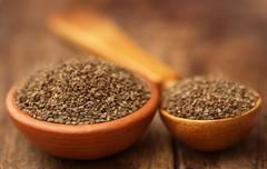 Ajwain seeds - stock photo