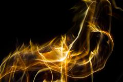 Fire effect - stock photo