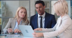 Business Professional Cooperation - stock footage