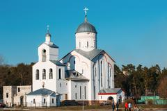 St. Alexander Nevsky Church in Gomel, Belarus Stock Photos