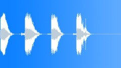 Sound Design | Various || Sound Design, Junky Impacts, Series x 4, Metallic F - sound effect