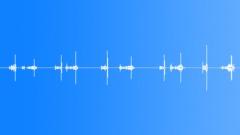 Metal | Rattles || Spinning Top, Mechanism Handle, Series x5, Metallic Rattle - sound effect