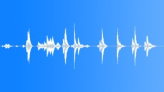 Metal | Shudders || Tin Sheet, Warbles, Waving Various, High Pitched, Reverb  - sound effect