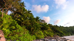 Day phuket island private freedom beach bay panorama 4k time lapse thailand Stock Footage