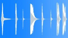 Sound Design | Hits Bursts || Sound Design, Metal Hits Series, Iron, Hard Cra - sound effect