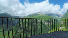 Observation deck Mountain Stock Footage
