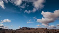 Morocco Atlas Mountains Clouds Time Lapse - stock footage