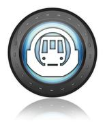 Icon, Button, Pictogram Subway - stock illustration