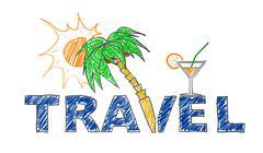Travel - stock illustration