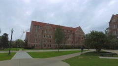 Architecture at Florida State University Stock Footage