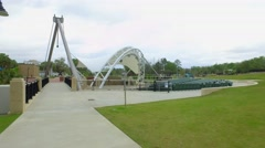 Cascades park concert stage Stock Footage