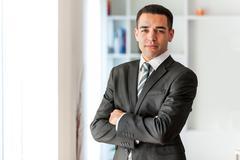 Latin American business man  portrait - stock photo