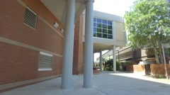 FSU College architecture Stock Footage
