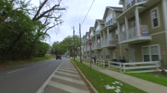 FSU Student housing Stock Footage