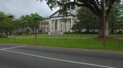 Historic Capitol Building Tallahassee - stock footage