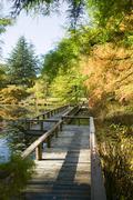 Van dusen botanical gardens vancouver Stock Photos