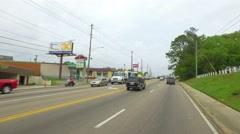 Monroe Street Tallahassee FL - stock footage