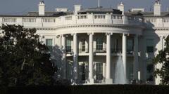 The White House, Washington DC - stock footage