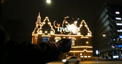 Tivoli Sparkle love - stock footage