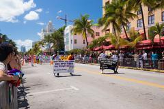 Stock Photo of The 8th Annual Miami Beach Gay Pride Parade