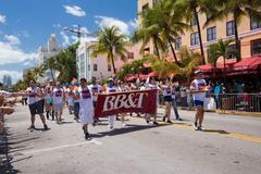 The 8th Annual Miami Beach Gay Pride Parade - stock photo